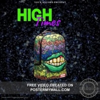 High Times Mixtape/Album Cover Art