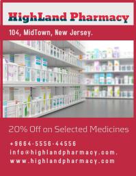 Highland Pharmacy Flyer (US Letter) template