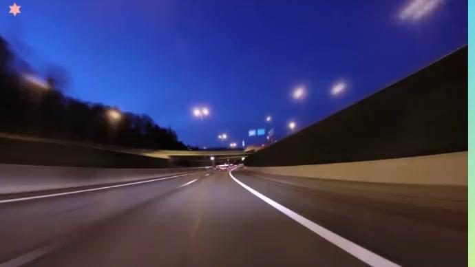 Highway road Foto de Portada de Canal de YouTube template