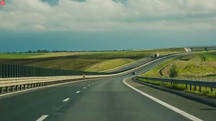Highway road Isithombe Sekhava Yeshaneli ye-YouTube template