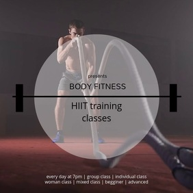 HIIT training classes cardio training