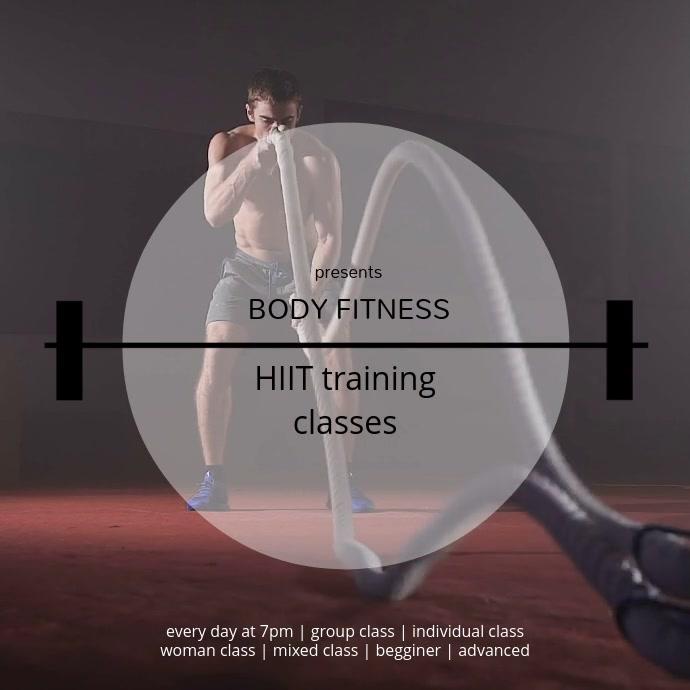 HIIT training classes cardio training