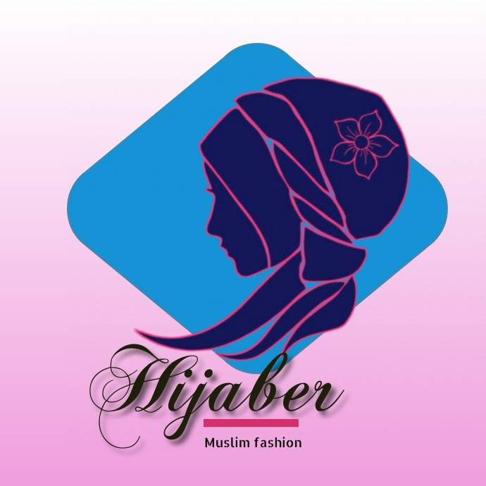Hijab 徽标 template