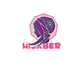 Hijaber Logo template