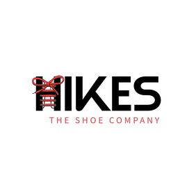Hike shoes brand logo template