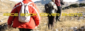 Hiking Facebook Cover Photo template