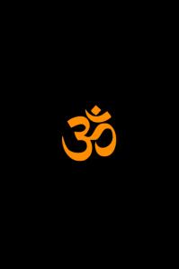 Hindu Om Power Template
