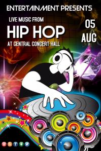 Hip Hop Concert Template