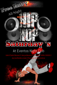 Hip Hop Concert Flyer