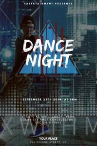 Hip HOp dance party Flyer design Template