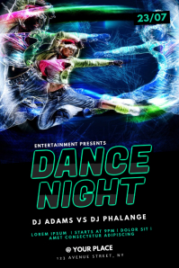 Hip Hop Dance Party Flyer Template