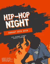 Hip-hop event Flyer Template
