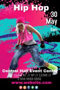 Hip Hop Event Template