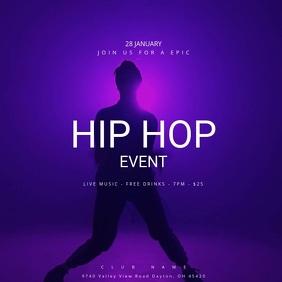 Hip Hop Event Poster