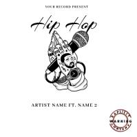 hip hop Mixtape/Album Cover Art Capa de álbum template