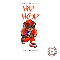hip hop music Mixtape/Album Cover A template