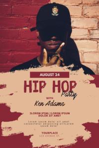 Hip-hop Party Flyer Template