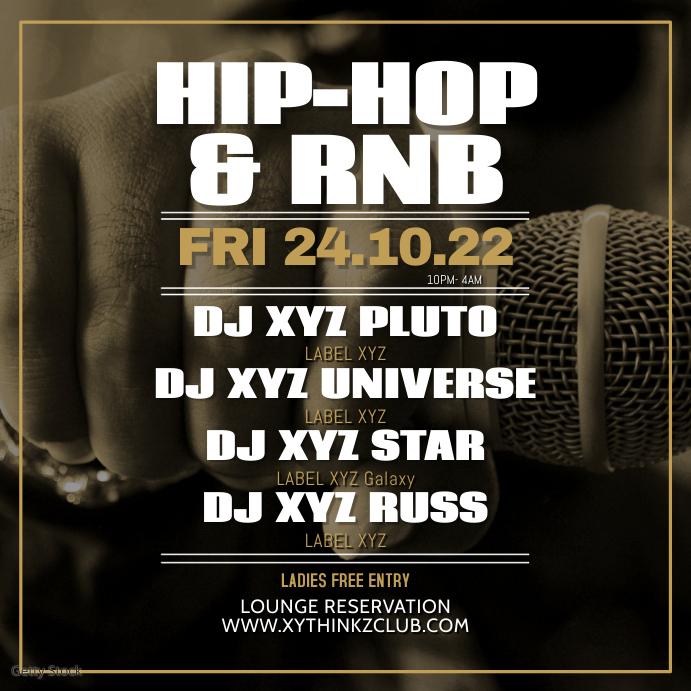 Hip Hop Party rnB R&B Party Club Music Oldschool Hiphop