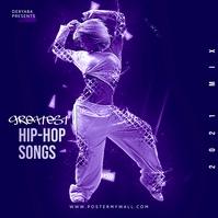 Hip-Hop Rap CD Cover template