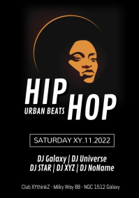 Hip Hop Urban Beats Party Club RnB Oldschool