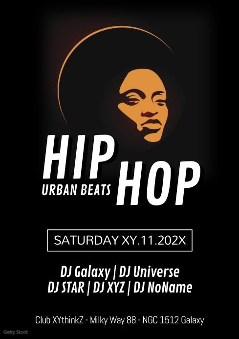 Hip Hop Urban Beats Party Club RnB Oldschool