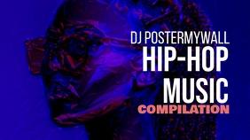Hip-Hop Youtube Video Thumbnail Template
