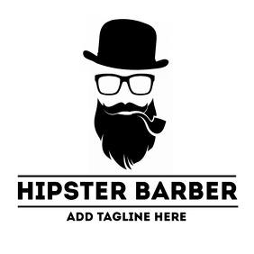 Hipster barber shop