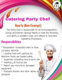 Hiring catering Party Chef