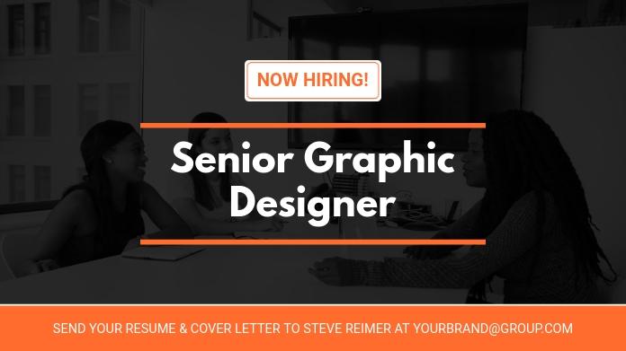 Hiring Graphic Designers Twitter Post Design