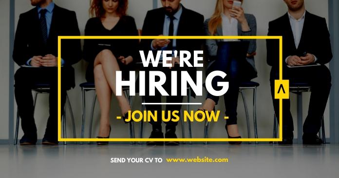hiring instagram post advertisement facebook template
