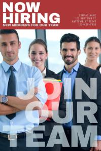 Hiring Job Employment Computers Flyer