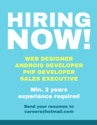 image about Now Hiring Sign Printable named 35,450+ By now Using the services of Flyer Customizable Style and design Templates