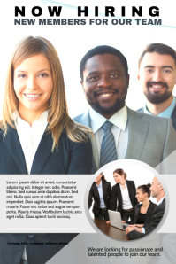 Hiring Poster for Corporate Teams