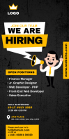 Hiring Rollup Banner Template