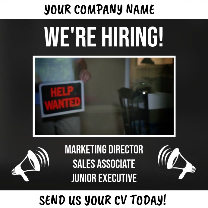 Hiring Video Template