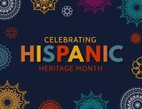 Hispanic celebrations Folder (US Letter) template