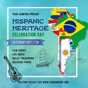 Hispanic Heritage Celebration Instagram Image