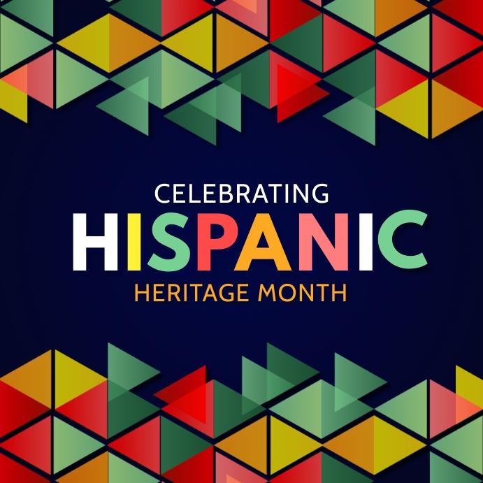 Hispanic heritage Instagram Plasing template