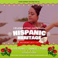 Hispanic Heritage Event Square Video