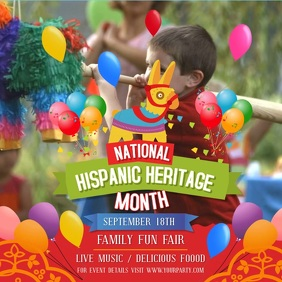 Hispanic Heritage Family Fun Fair Video