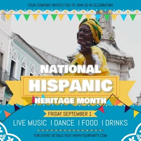 Hispanic Heritage Festival Square Video