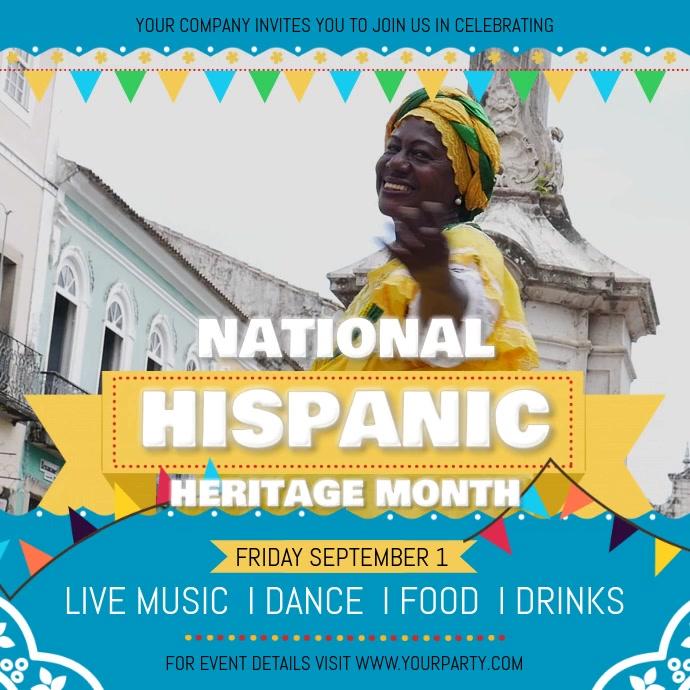 Hispanic Heritage Festival Square Video
