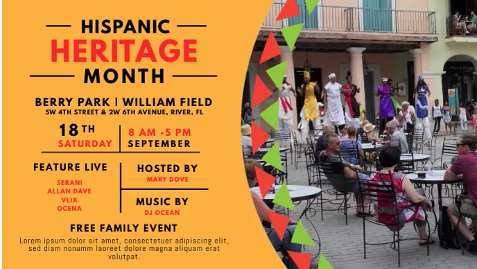 Hispanic Heritage Live Event Video