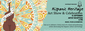 Hispanic Heritage Month Art Exhibition Banner