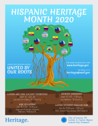 Hispanic Heritage Month Basic Flyer