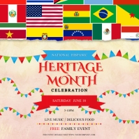 Hispanic Heritage Month Celebration Instagram