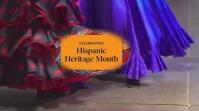 Hispanic Heritage Month Digital Display (16:9) template