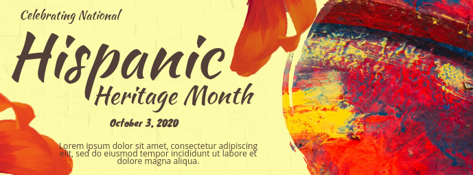 Hispanic Heritage Month Event Banner