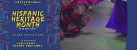 Hispanic Heritage Month event Facebook cover