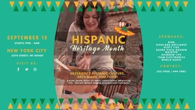 Hispanic Heritage Month Event Invite Video